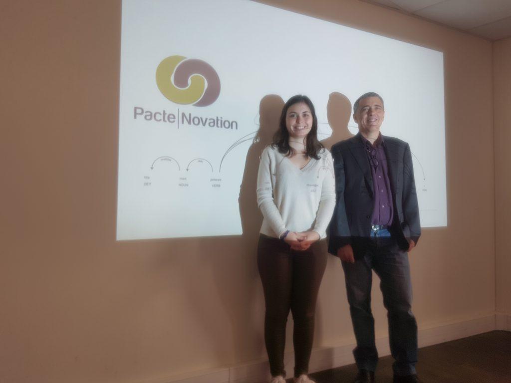 Claire Salomé et Jean-Claude Houbart - Pacte Novation pour MOBiDYS