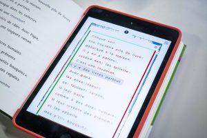 Livre numérique FROG avec thèses et coloration syllabique - MOBiDYS