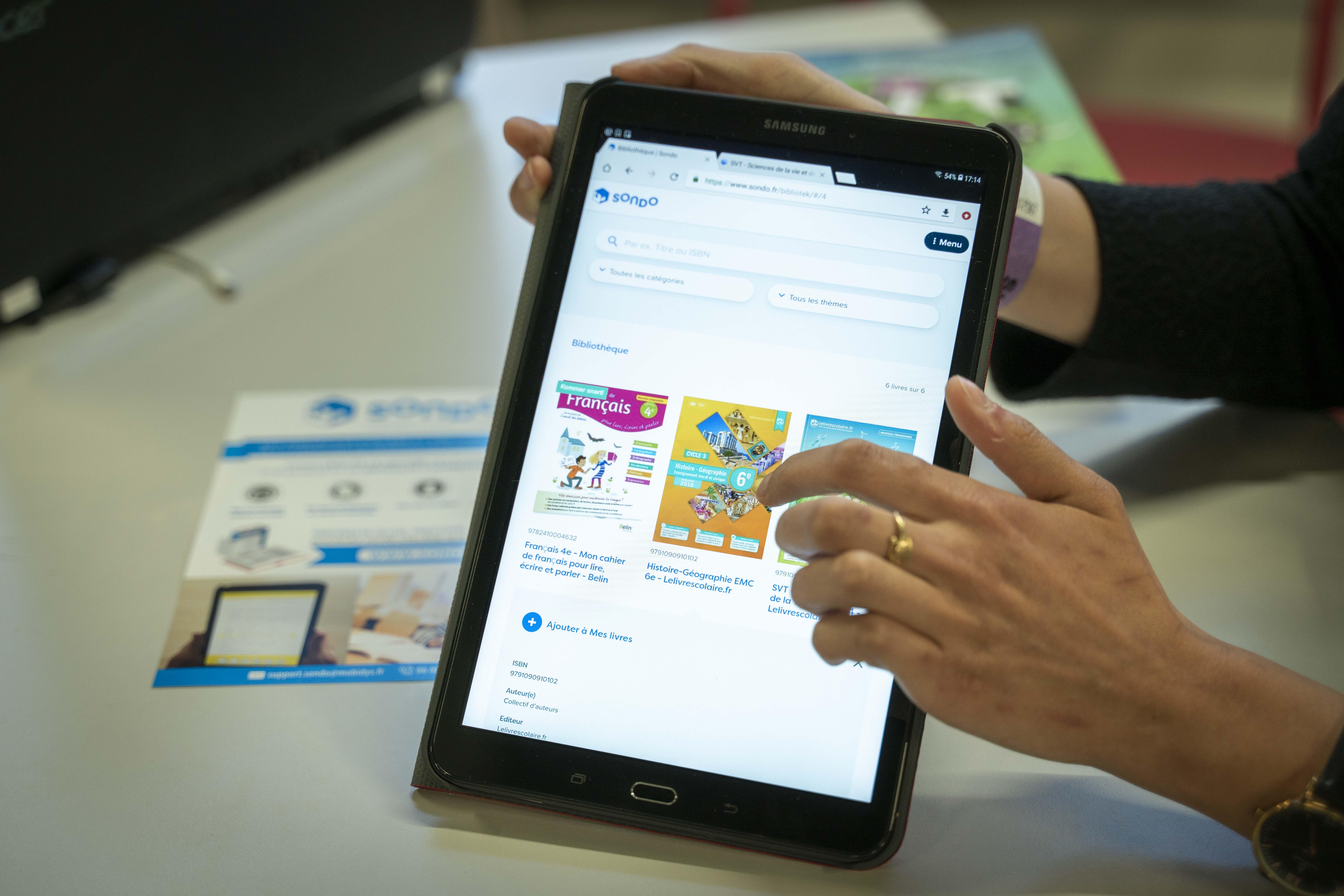 SONDO, une bibliothèque de ressources adaptées aux élèves en difficulté d'apprentissage